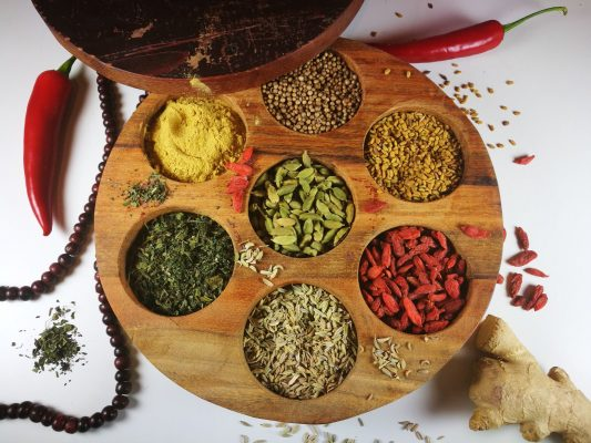 The concept of the 6 tastes Ayurveda Sayoni Care