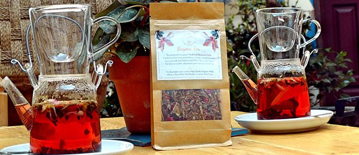 Ayurvedic Hormonal tea - Sayoni Care