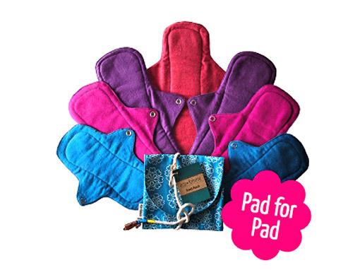 Menstrual pads liner - Sayoni Care