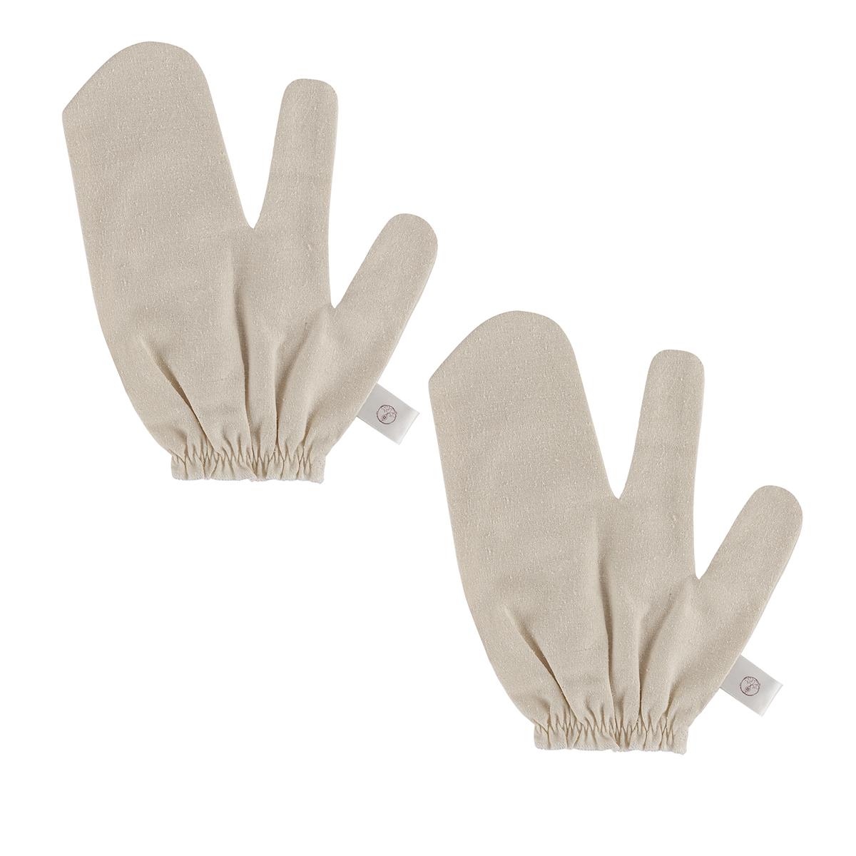 Garshana gloves 100% raw silk - Sayoni Care