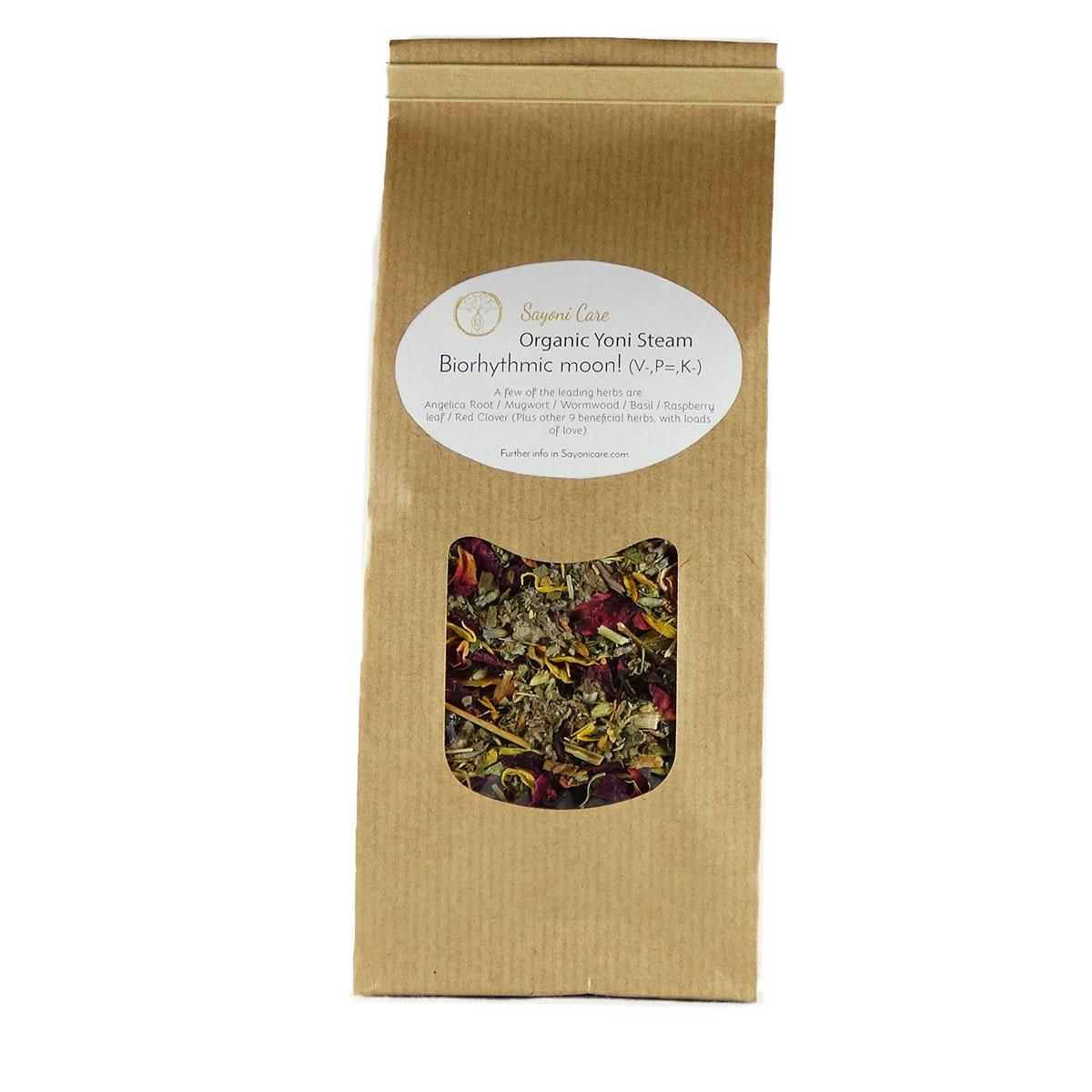 Biorhythmic moon organic herbal vaginal steam - Sayoni Care