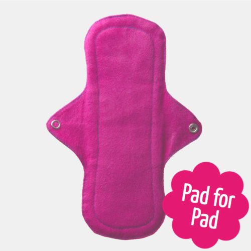 Eco menstrual cotton day pad - Sayoni Care