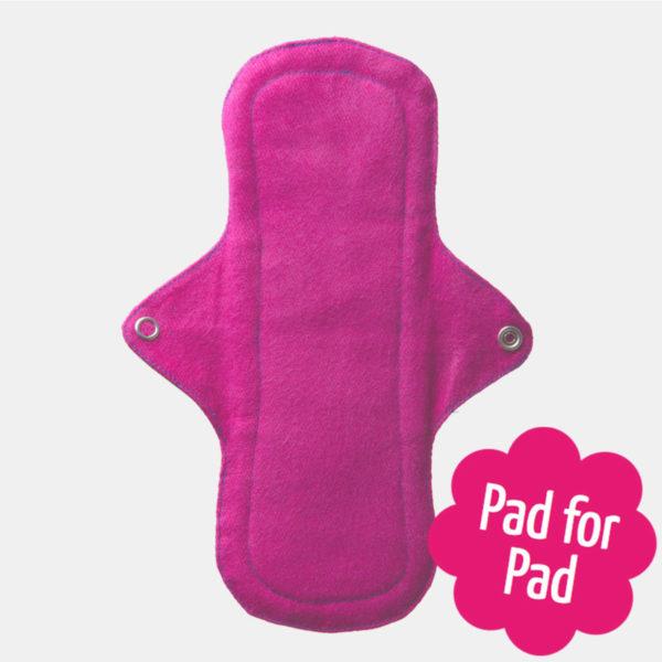 Eco menstrual cotton day pad - Sayoni Care