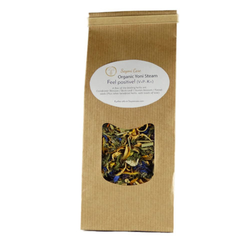 Feel positive organic herbal vaginal steam - Sayoni Care