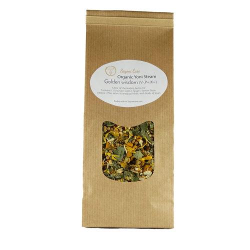 Golden wisdom organic herbal vaginal steam - Sayoni Care