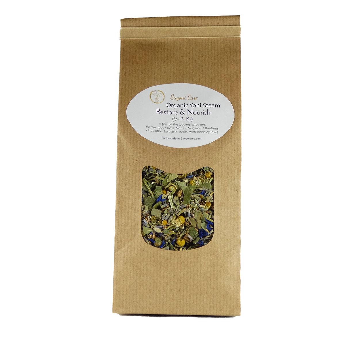 Restore & Nourish organic herbal vaginal steam - Sayoni Care