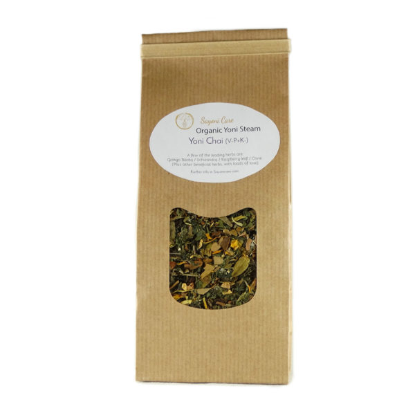 Yoni Chai organic herbal vaginal steam - Sayoni Care
