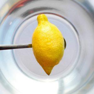 dinacharya water lemon detox sayoni care