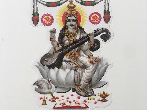 Meet Saraswati the goddess of wisdom, protector of women sayoni care