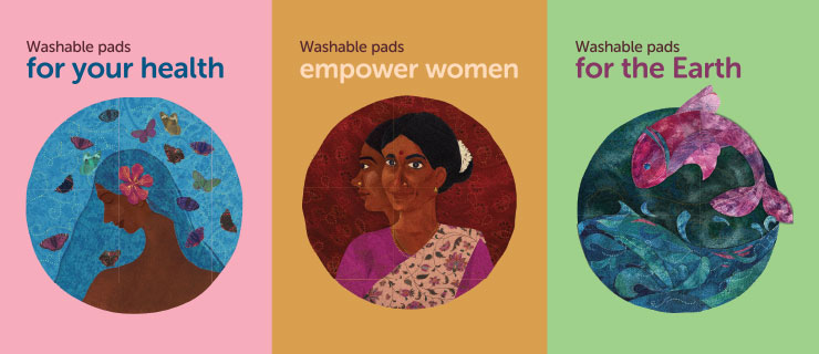 Compresas ecológica sostenible eco femme sayoni care